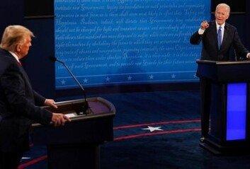 트럼프·바이든, '마지막 토론'코로나19 기 싸움