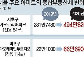 """""""이건 세금 아니라 벌금""""2배 뛴 '종부세 폭탄' 현실로"""