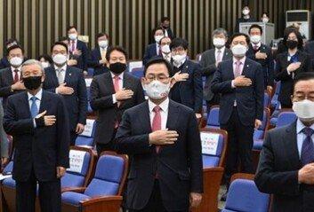 """""""서울시장 보선 승리를 위해…"""" 지원령 내린 국민의 힘"""