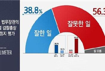 """""""秋의 '윤석열 직무정지' 어떻게 생각하나""""국민들에 물어보니…"""