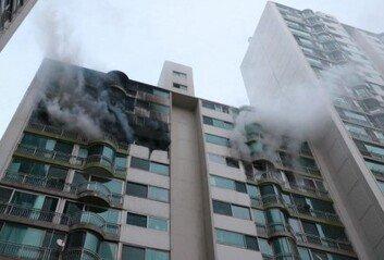 군포 산본동 아파트서 화재 발생최소 5명 사망