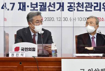 """黨지지율 오르자…국민의힘 """"야권 단일화? 당분간 제 갈길"""""""