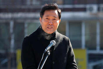 """'조건부' 뗀 오세훈 서울시장 출사표 """"사전 통합 기대 어려워"""""""