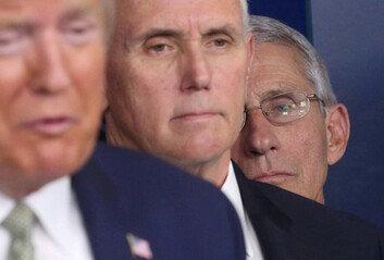 """파우치 """"해고 위협은 트럼프의 방식일 뿐, 진짜 해고할거라 생각한 적 없어"""""""