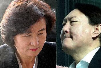 """'尹 징계', '秋 재신임' 청원에…靑 """"검찰개혁 대과제, 잘 마무리"""""""