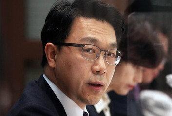 """김진욱 """"대통령과 핫라인 없다식사 요청도 없을 것"""""""