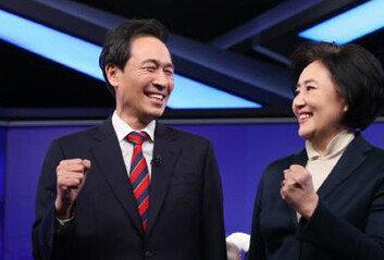 민주 서울시장 후보 박영선 확정박영선 69.5% 우상호 30.4%