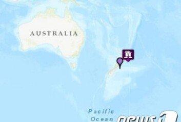 뉴질랜드서 규모 6.9 강진…진원지 300km 내 쓰나미 경보