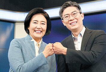여권 단일화 시동박영선-조정훈 첫 토론