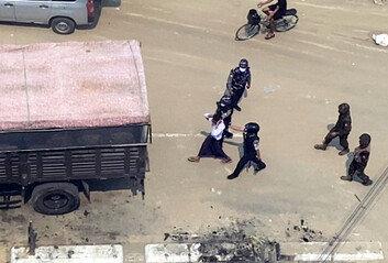 """""""미얀마 군부, 바고 지역서 시위대 80명 이상 사살"""""""