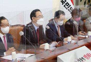 국민의힘 전당대회, 재보선 지지층 확장 갈림길