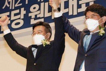 """與, 보선 참패에도 '도로 친문'윤호중 """"개혁 속도조절론은 핑계"""""""
