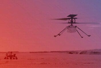 NASA 무인 헬기, 화성서 날았다지구 밖 행성 첫 동력비행