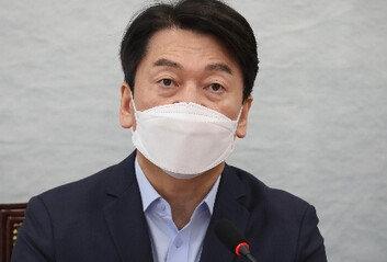 """안철수 """"마스크 언제 벗나…文, 화이자·모더나 CEO 만나라"""""""