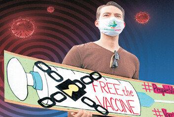 美 백신특허 풀면 공급 숨통 기대제약사 설득-국제합의가 숙제