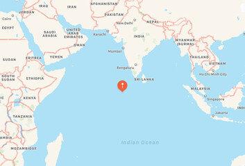 """AFP """"중국 로켓잔해 아라비아해 위에서 해체"""""""