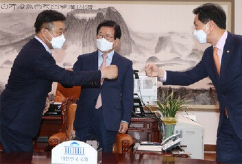 '총리 인준-장관3인 임명-법사위장 재배분' 빅딜론 솔솔