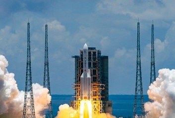 중국 무인탐사선, 발사 10개월 만에 화성 착륙