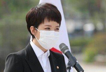 """김은혜 """"영남당 프레임은 자해정치도로한국당은 막아야"""""""