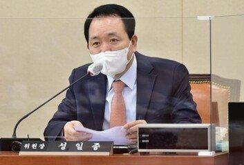 """성일종 """"홍준표 복당 시기, 다른 대선 주자 들어올 때 함께"""""""