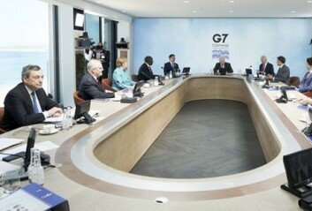G7 정상들, 中'일대일로'에 맞서 'B3W' 인프라 투자 합의