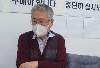 """'노조 상대 단식' 건보공단 이사장 """"너무 절박해서 다른 방도 없었다"""""""