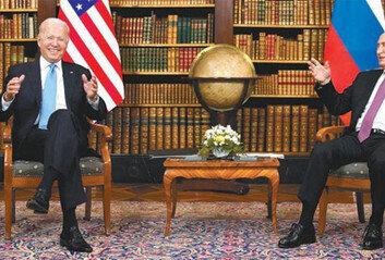 바이든-푸틴, 핵-사이버공격 억제 합의해킹 배후-인권 문제는 이견