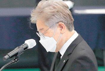 이재명, 文 싱크탱크 '국민성장' 지원 얻어 친문 끌어안기 가속