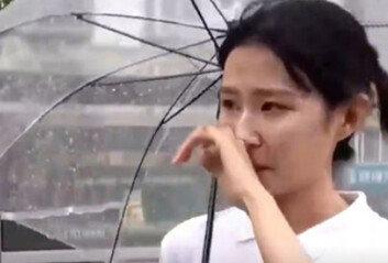 中최악의 폭우, 참혹 현장…생방송서 눈물 흘린 여기자