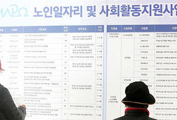 근로희망 고령층 1000만 명, 임시직 땜질 처방만 하는 정부