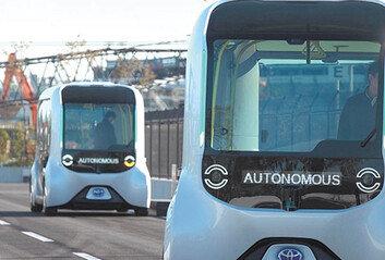 코로나로 일그러진 '신기술 쇼케이스''日 야심작' 자율주행차-로봇, 흥행 저조