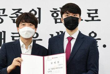 """국힘 대변인 """"안산 핵심, 남혐용어 사용""""진중권 """"그게 할 소리냐"""""""
