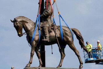 '링컨, 왜 당신이 거기서 나와?'리 장군 동상에 얽힌 미스터리