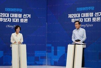 추미애 측, '사퇴 가능성 언급' 이낙연 측 대변인 해임 요구