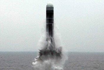 北잠수함기지 신포서 탄도미사일 발사…SLBM 가능성