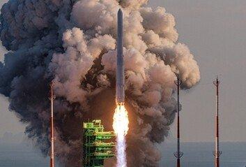 누리호, 엔진 연소 마지막 46초 모자라 목표속도 못미쳐 궤도진입 못해