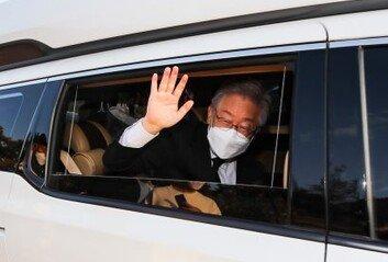이재명, 25일 경기도지사 사퇴 퇴임식 대신 기자회견