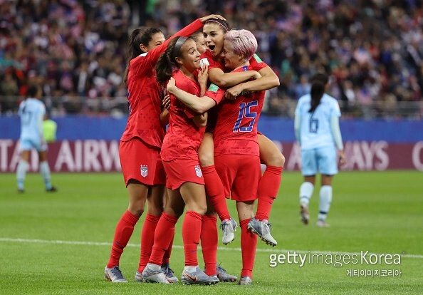 미국, 여자 월드컵 통산 4번째 정상 등극