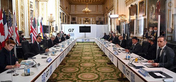 미국의 '중국 압박' 동참한 G7 대만해협 평화 촉구