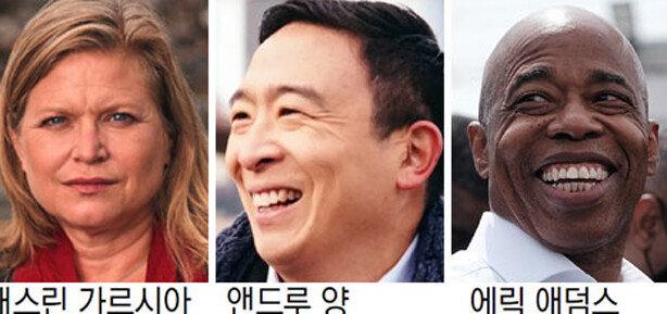 """앤드루 양 """"득표율 저조"""" 패배 인정"""