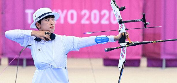 안산, 한국선수 첫 여름올림픽 3관왕 '명중'