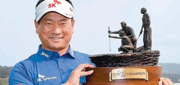 '51세 탱크' 또 전진… 최경주,한국인 첫 PGA챔피언스 제패