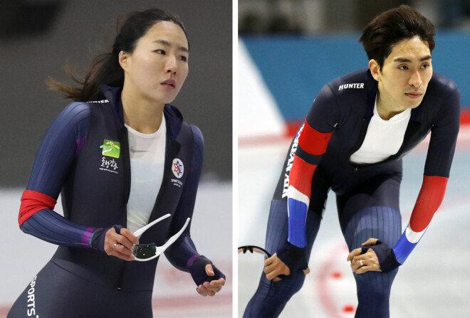 이상화(왼쪽), 이승훈(오른쪽) [홍진환 동아일보 기자]
