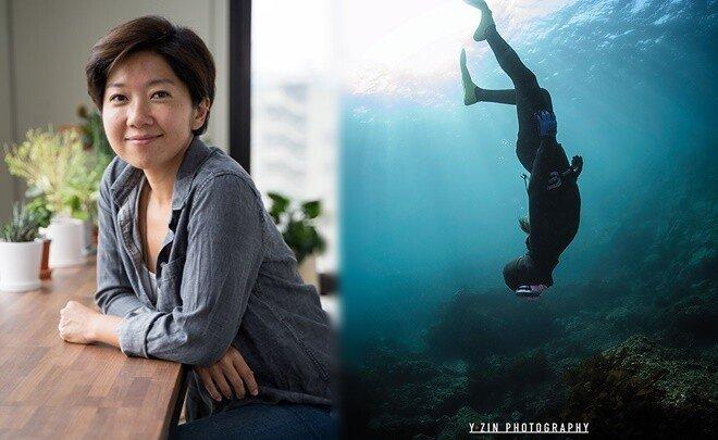 """""""바다는 내 스튜디오, 하지만 여전히 두려워요"""" 수중사진작가 와이진"""