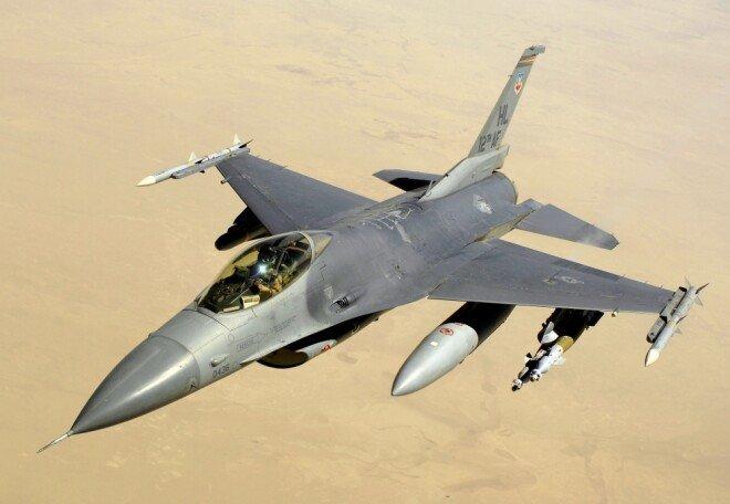 미국의 F-16 전투기. [미국공군 United States Air Force 제공]