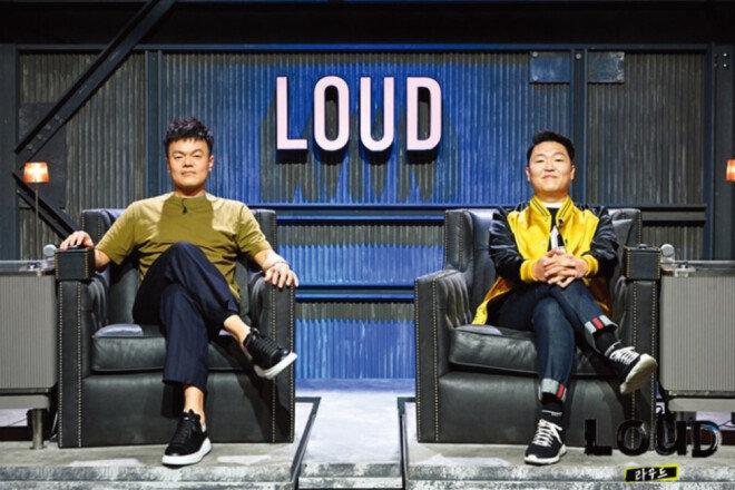 6월 5일 첫 방송된 SBS 아이돌 오디션 예능프로그램 '라우드'의 두 심사위원. [SBS 캡처]