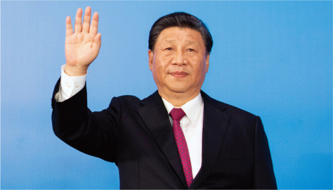 시진핑 중국 국가주석. [신화=뉴시스]