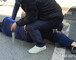 30대 남성, 오세훈 유세중 흉기 습격 시도…경찰이 제압