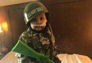 군인 꿈꾸던 5세 꼬마, 암으로 사망→최연소 대령 임명