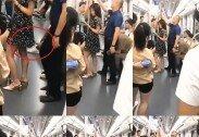'몰카' 찍히던 女 보호하려고…지하철서 자리양보한 남성